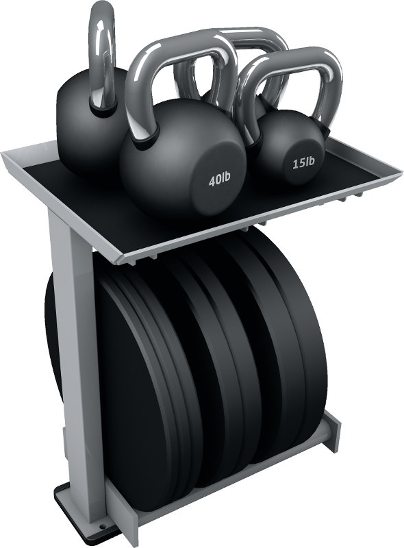 HD Elite_ Kettle Bell-Bumper Storage