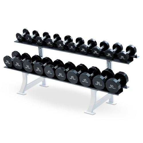 Hammer Strength – 2 Tier Dumbbell Rack