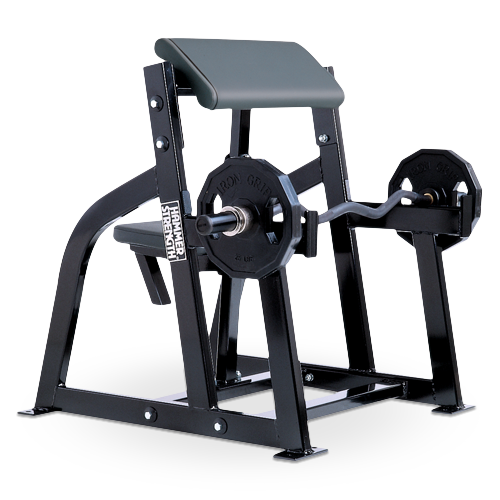 Hammer Strength – Seated Arm Curl