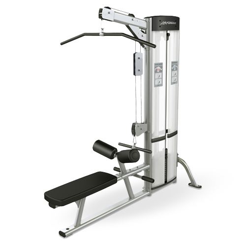 Lat Pulldown + Low Row